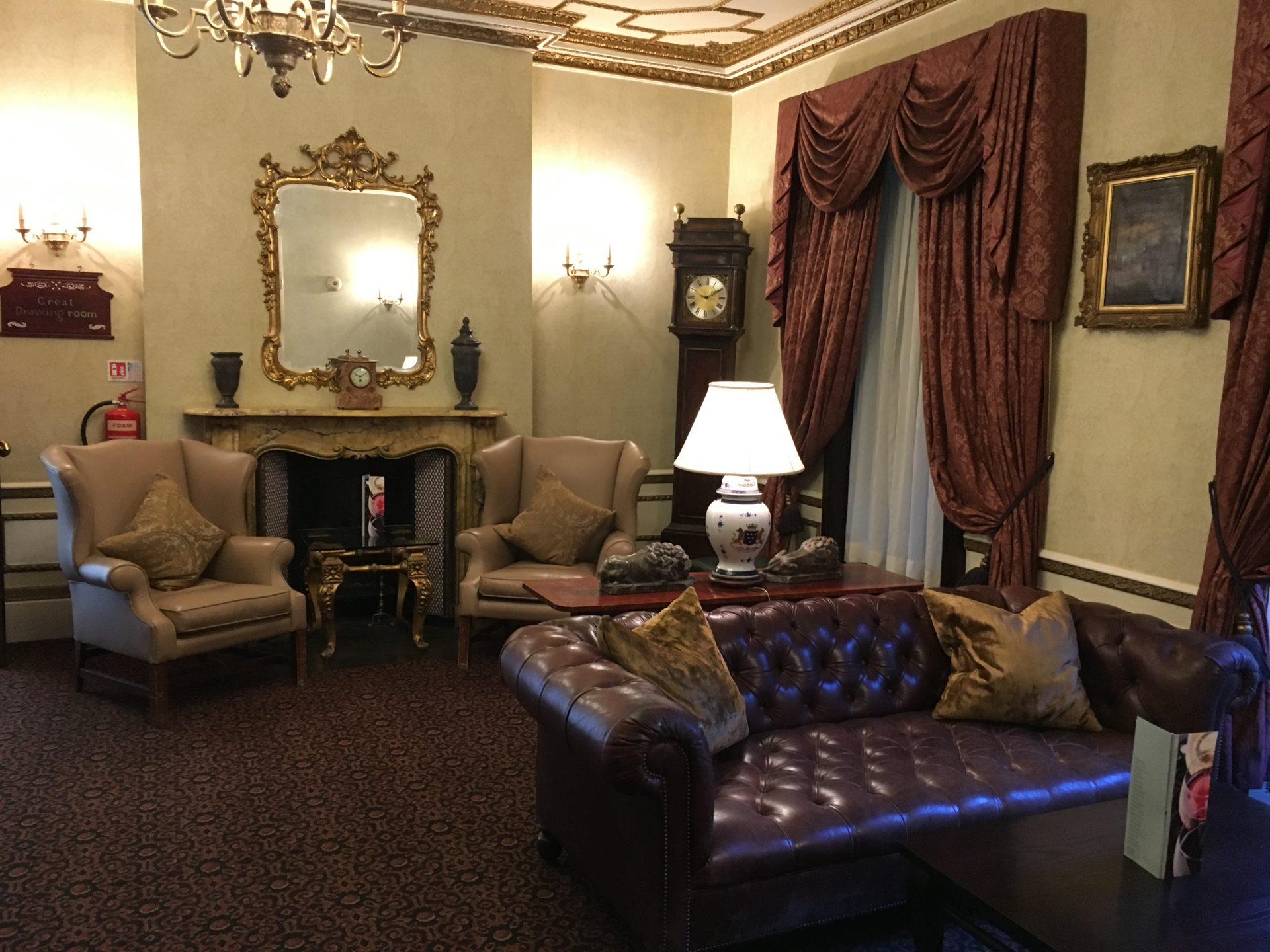 Ettington Park hotel bar