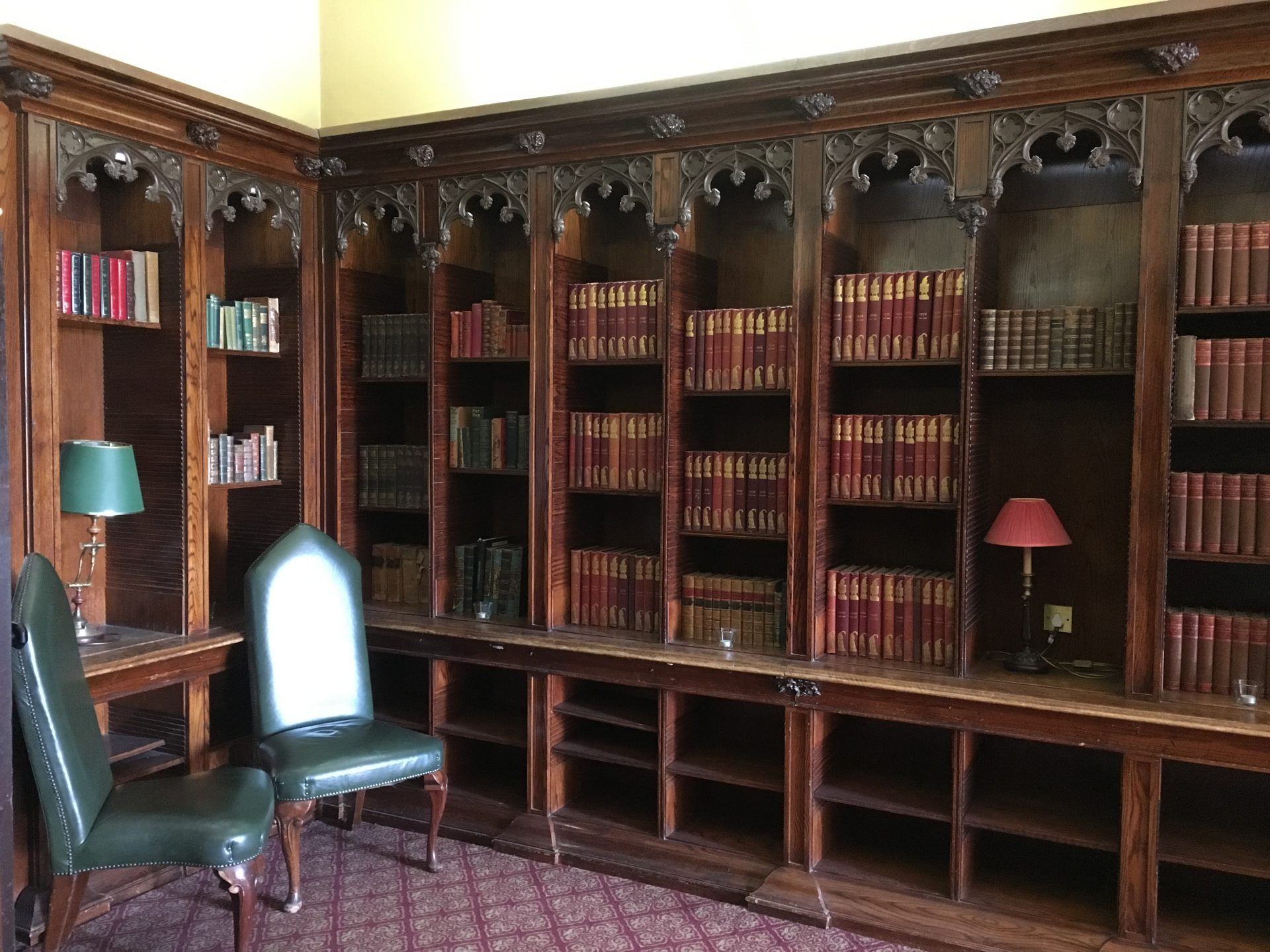 Ettington Park hotel library