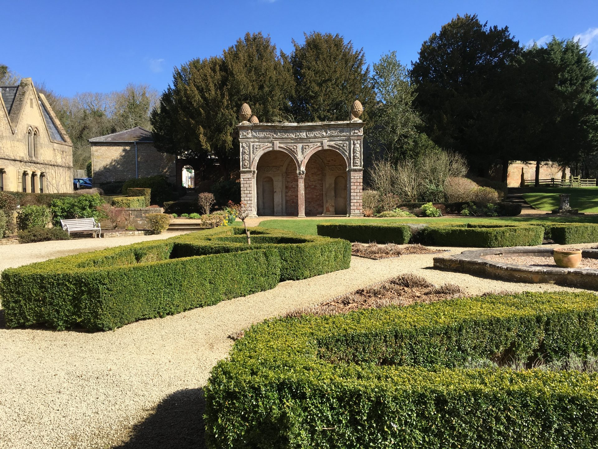 Ettington Park Hotel gardens