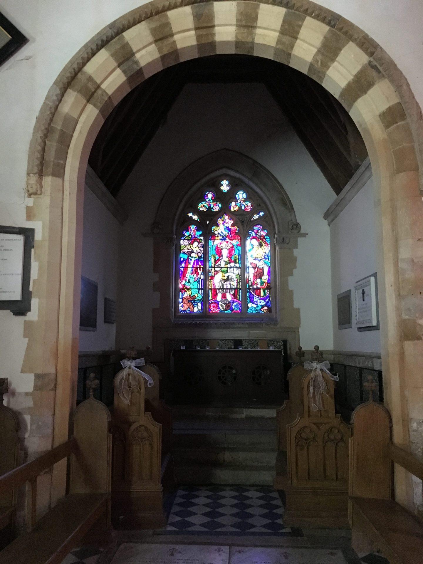 Ettington Park Hotel church
