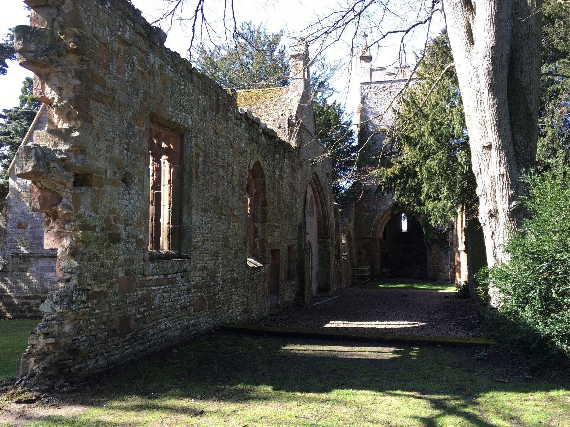 Ettington Park Hotel ruins