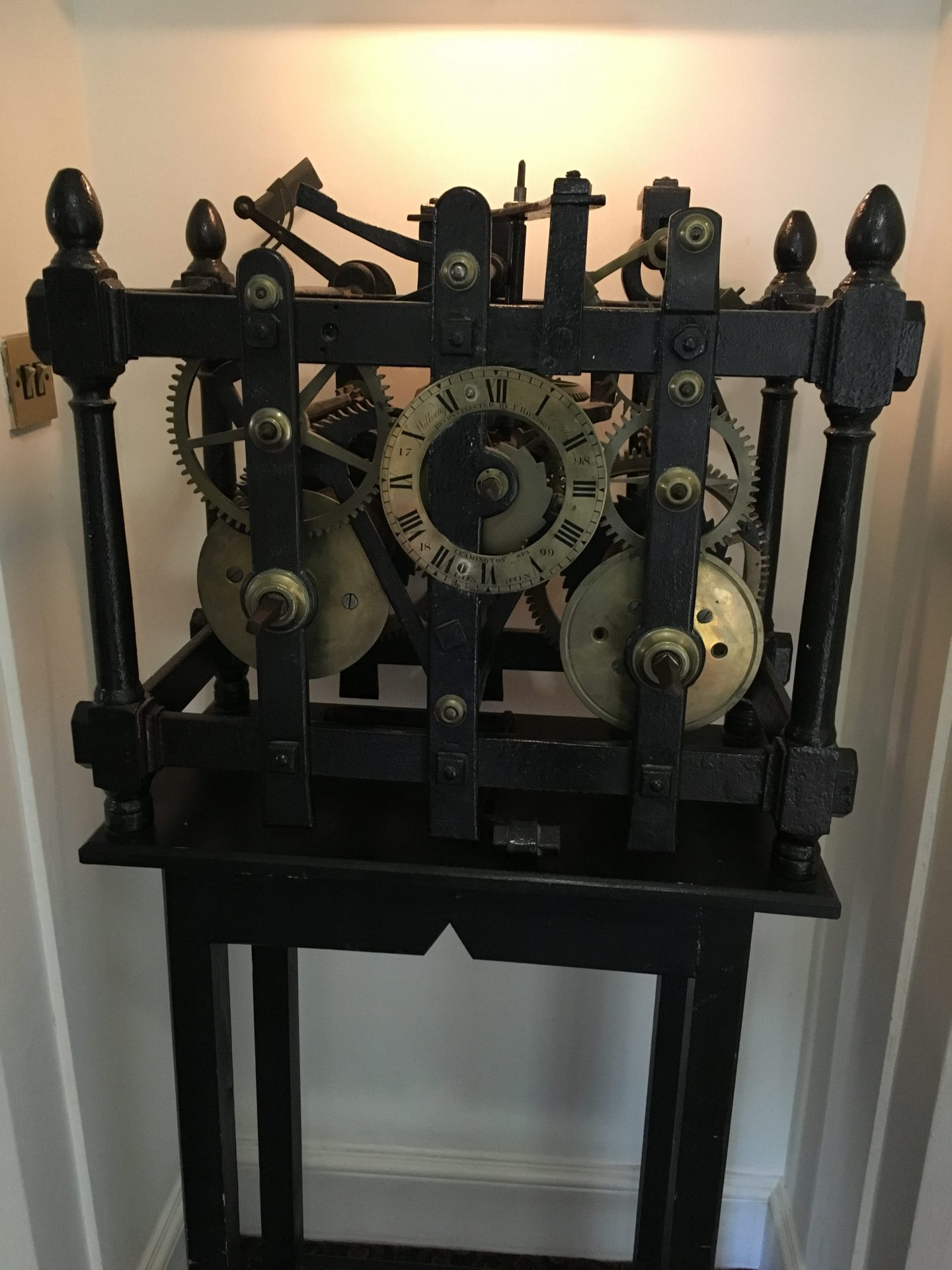 Ettington Park hotel clock