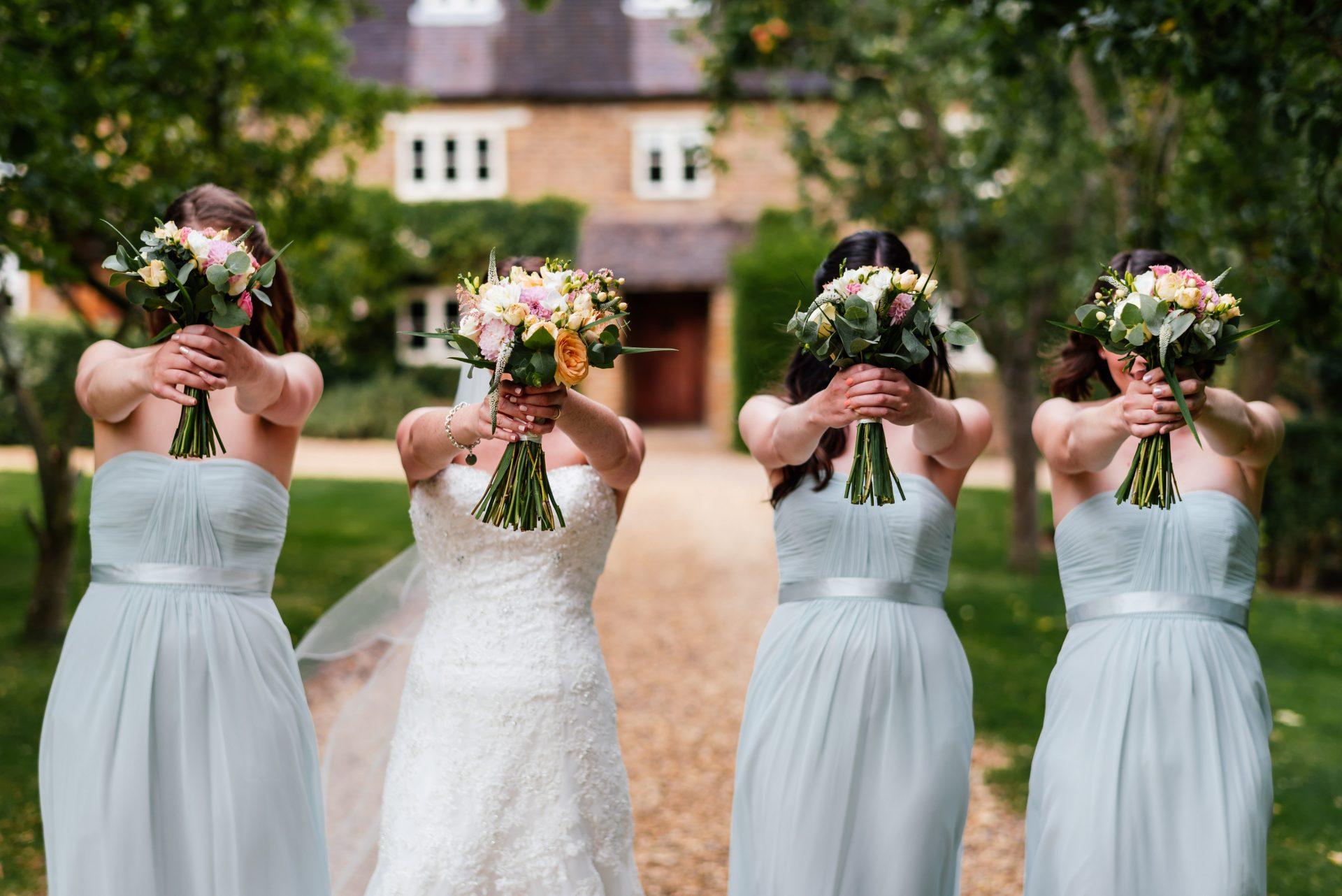 Sarah and Bridesmaids