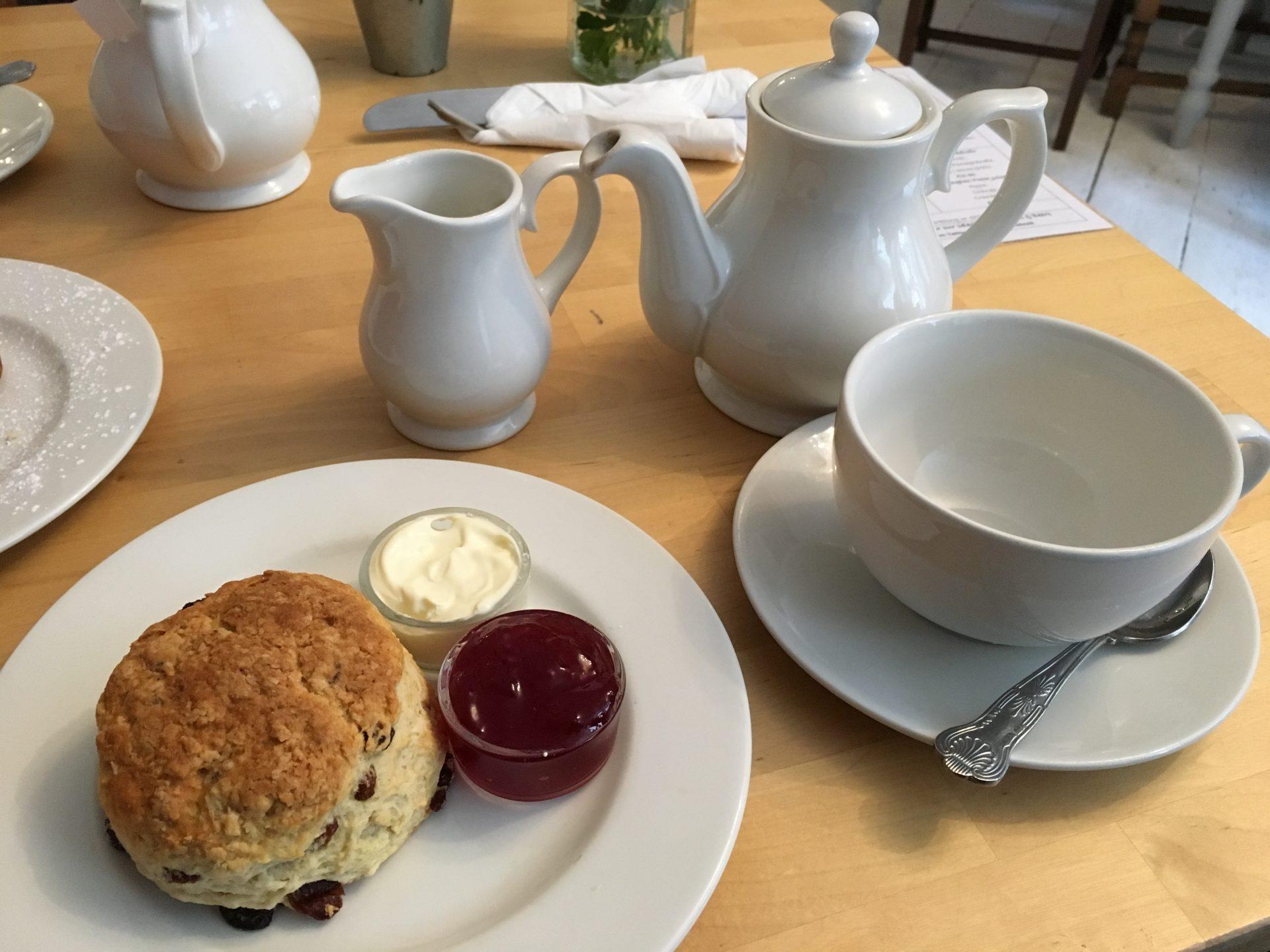 Cream Tea at The Flax & Twine, York