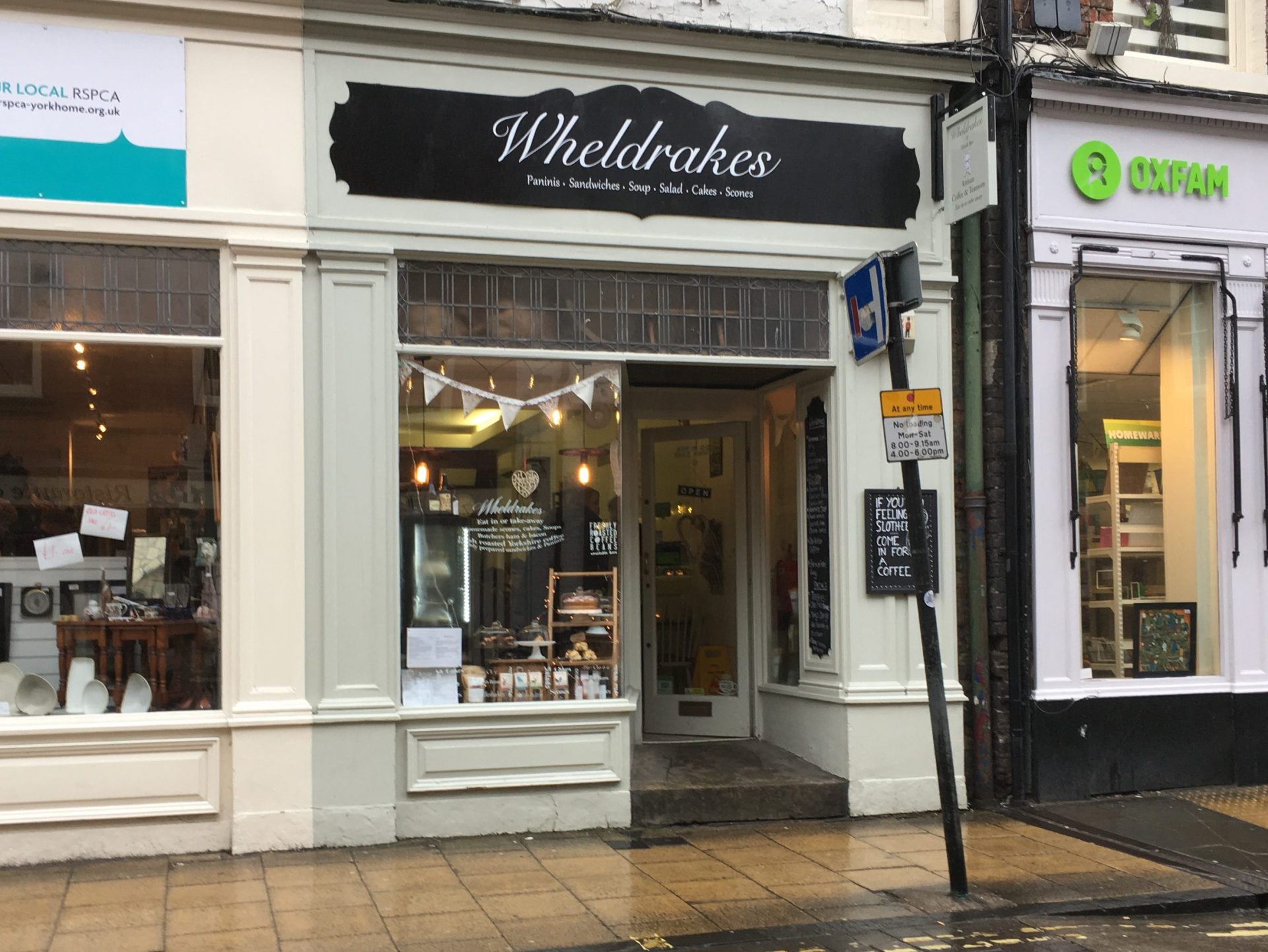 Wheldrakes Cafe, York