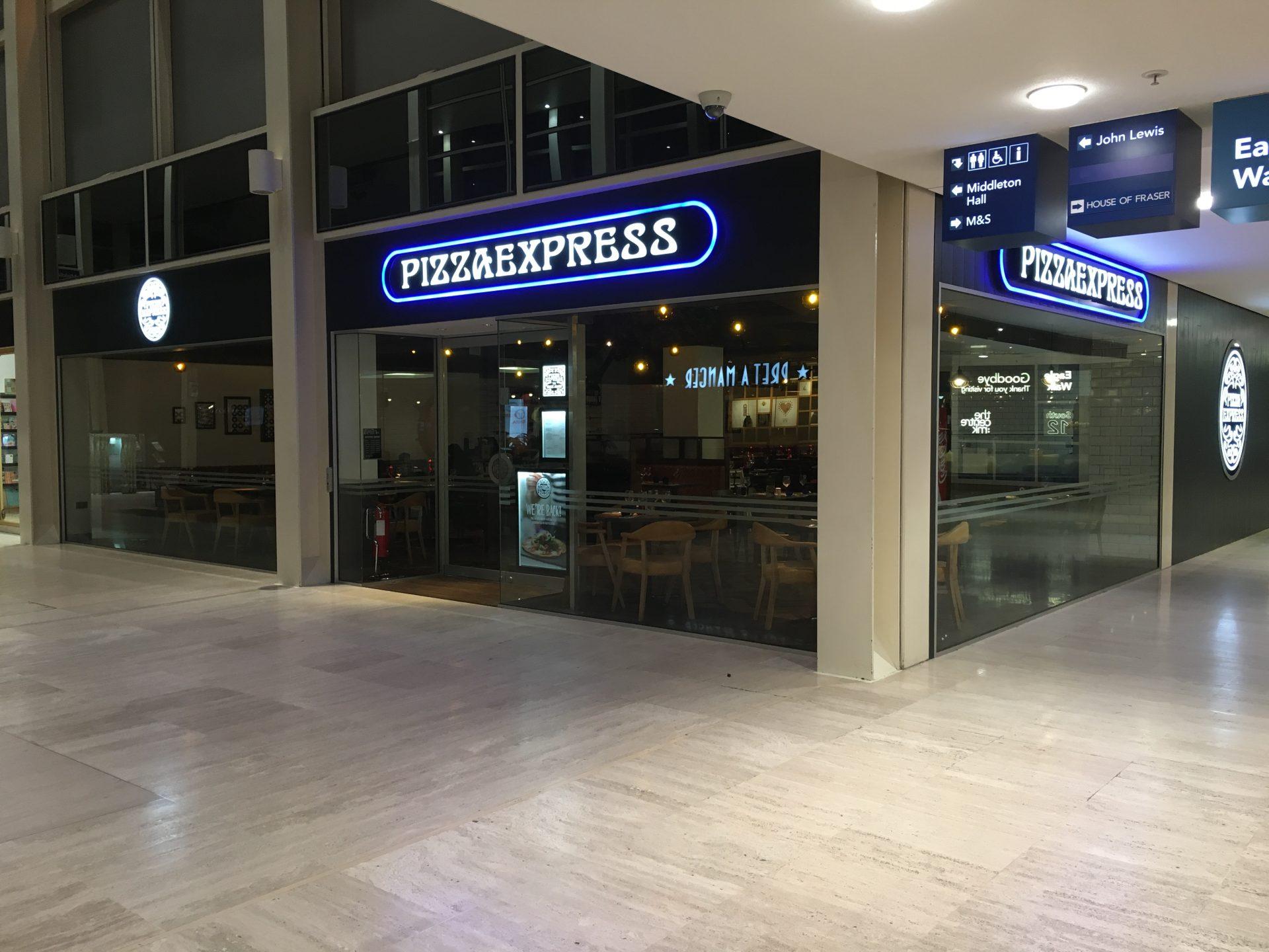 Pizza Express, Midsummer Arcade, Milton Keynes