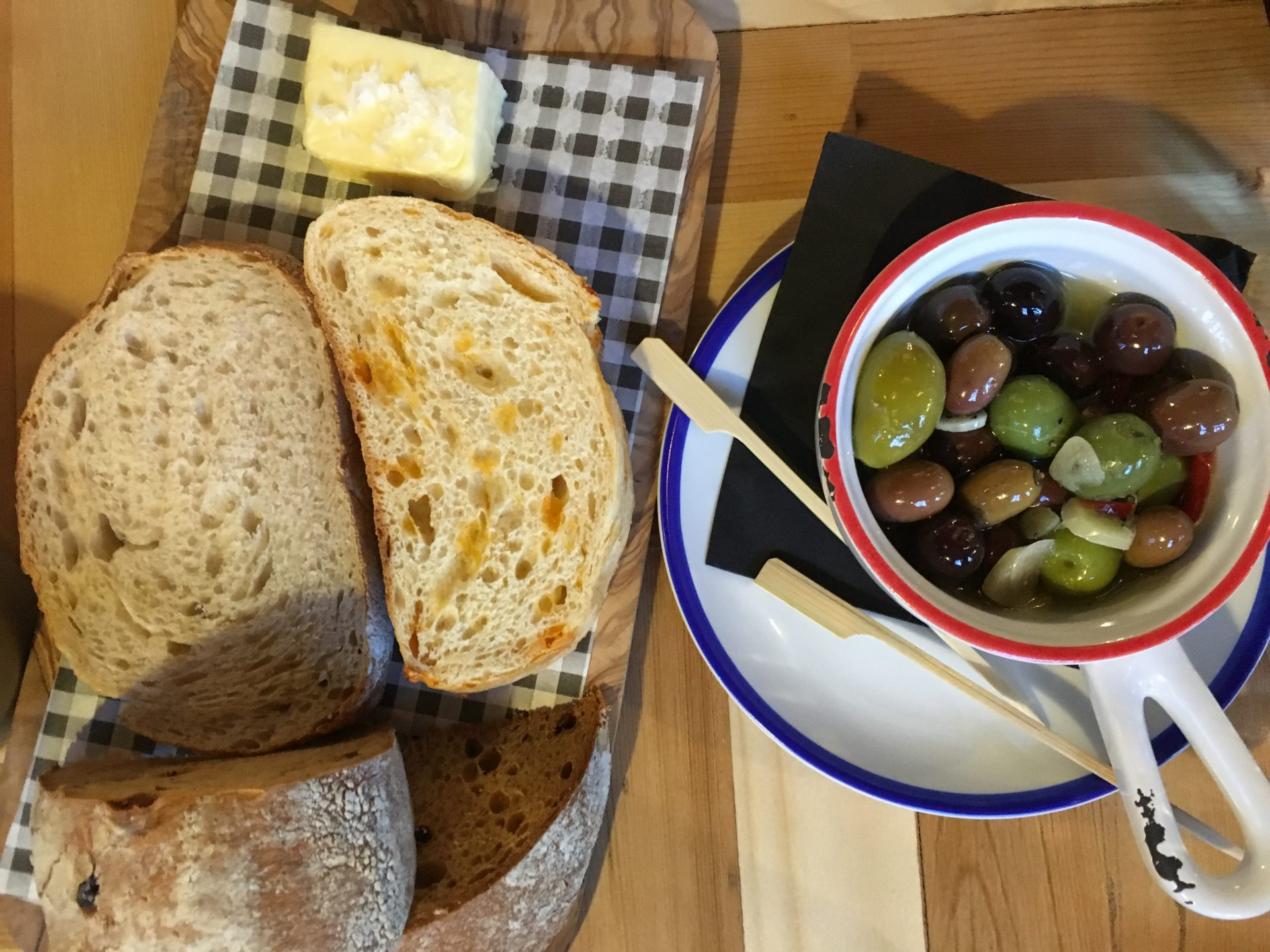 The Wheatsheaf Bread & Olives