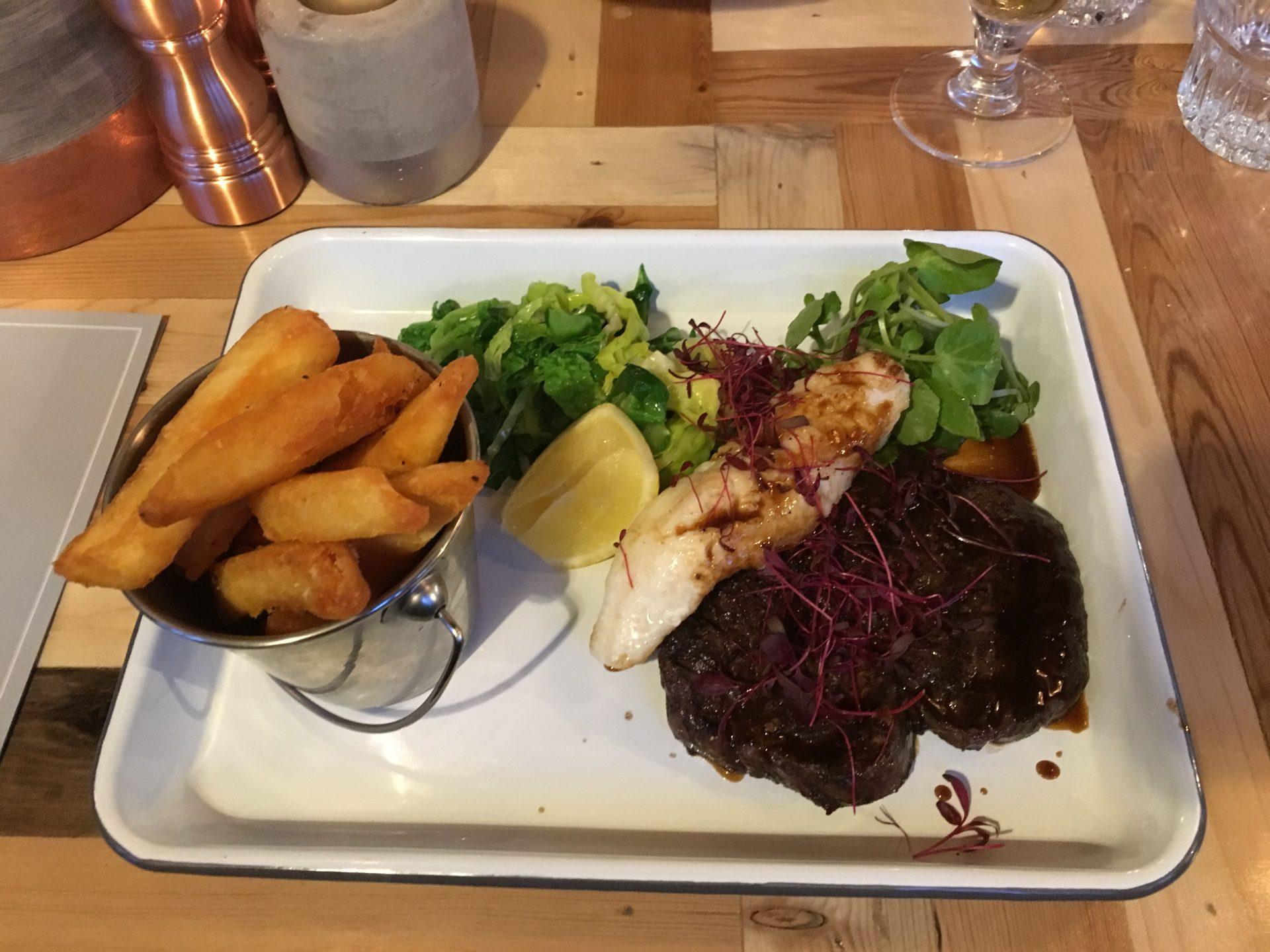The Wheatsheaf Surf & Turf
