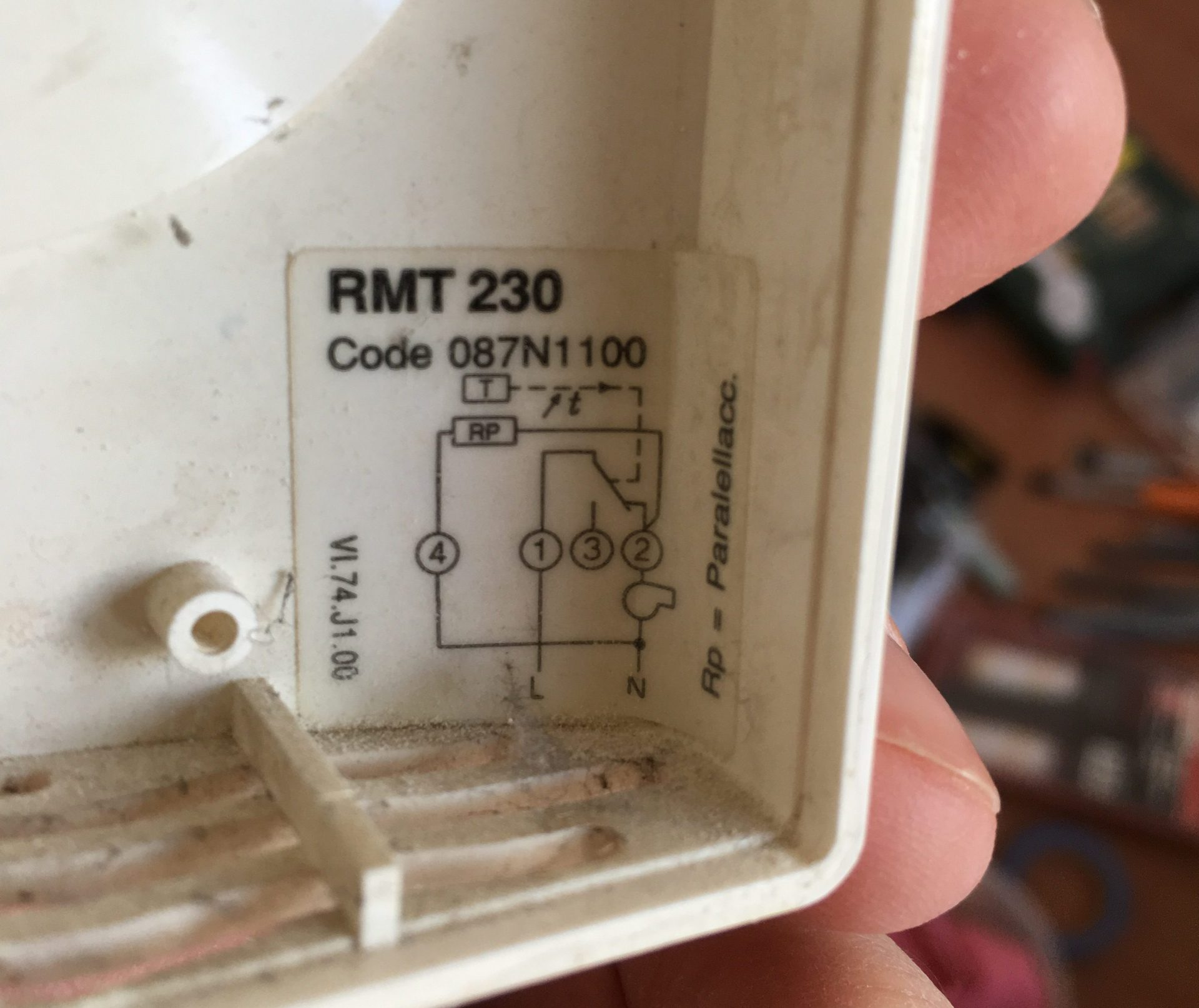 Danfoss thermostat wiring