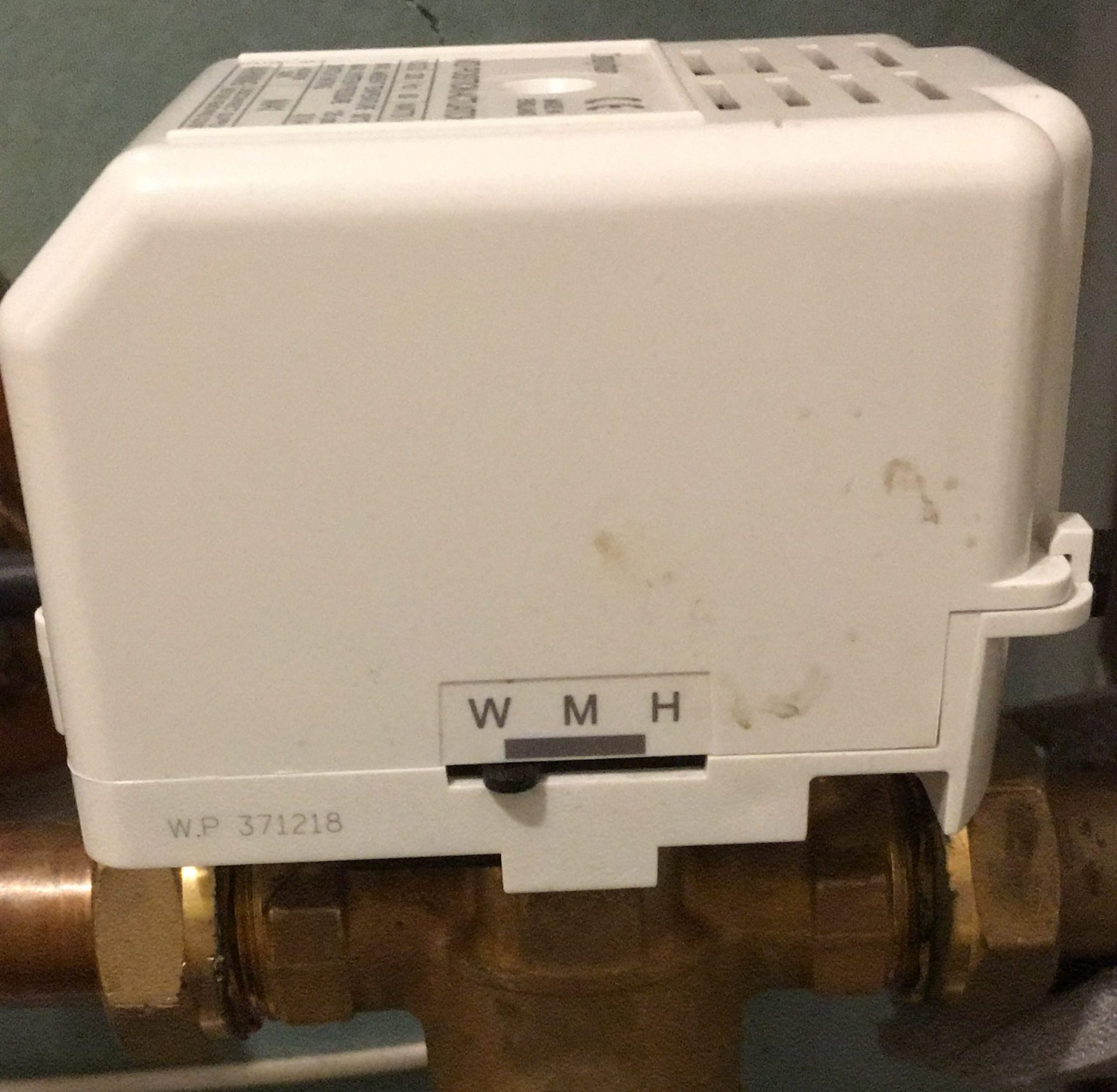 Nest thermostat hot water test