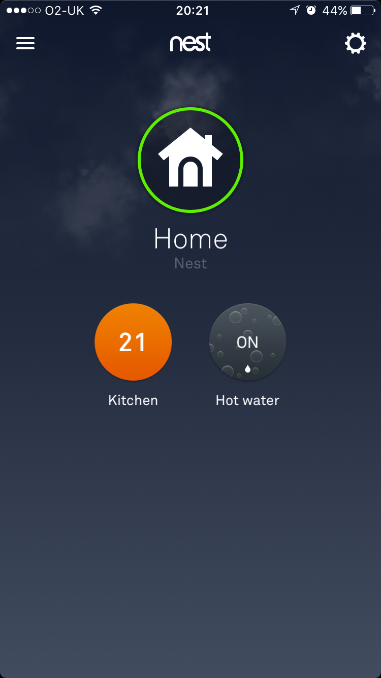 Nest thermostat central heating and hot water test
