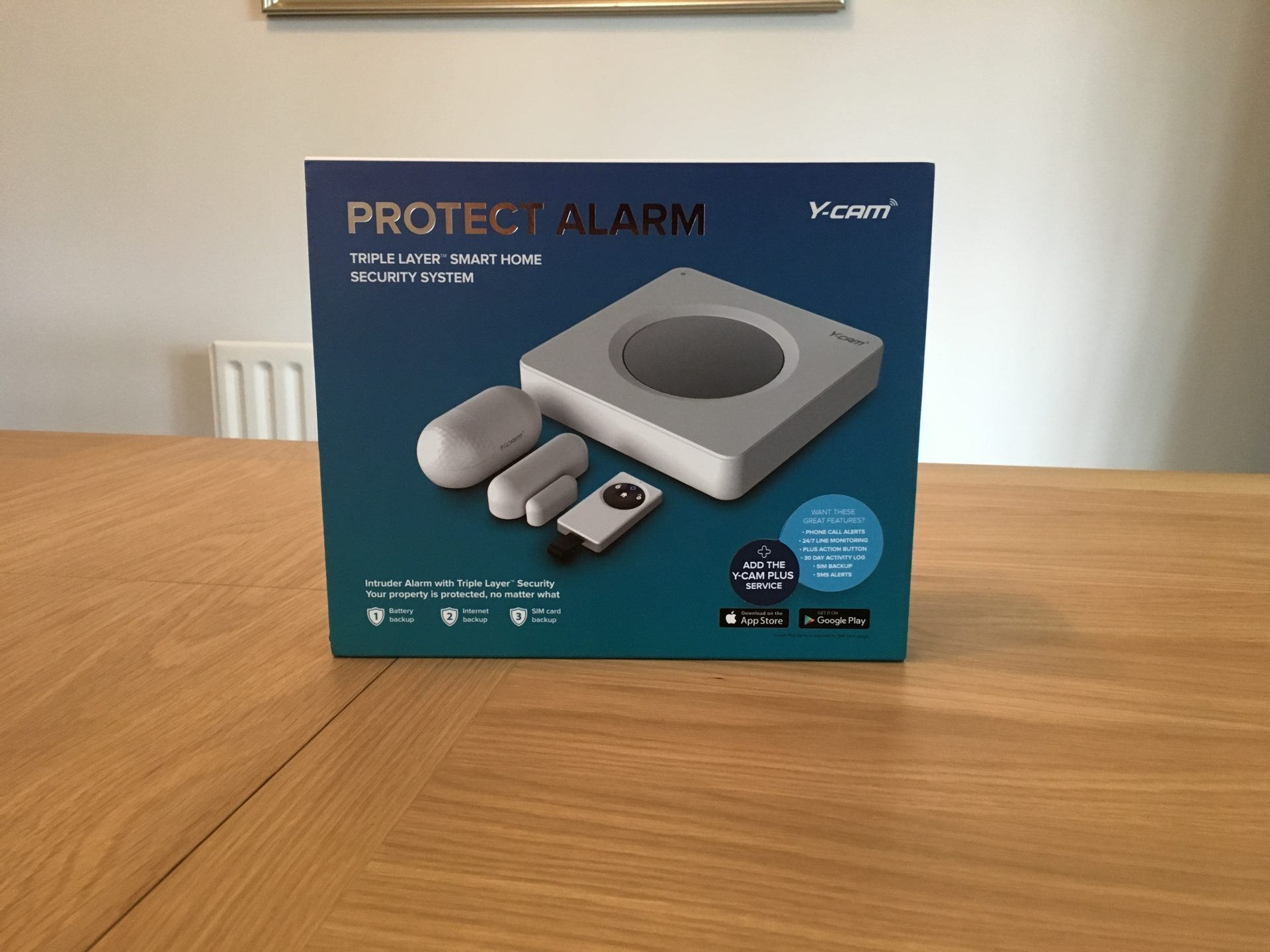 Y-cam Protect Home Security Alarm System