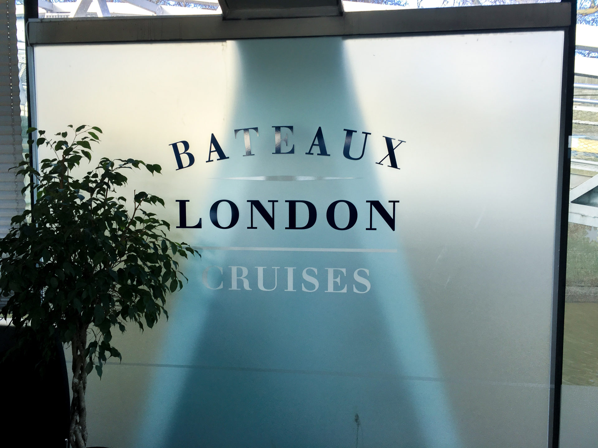 Bateaux London Cruises at Embankment Pier
