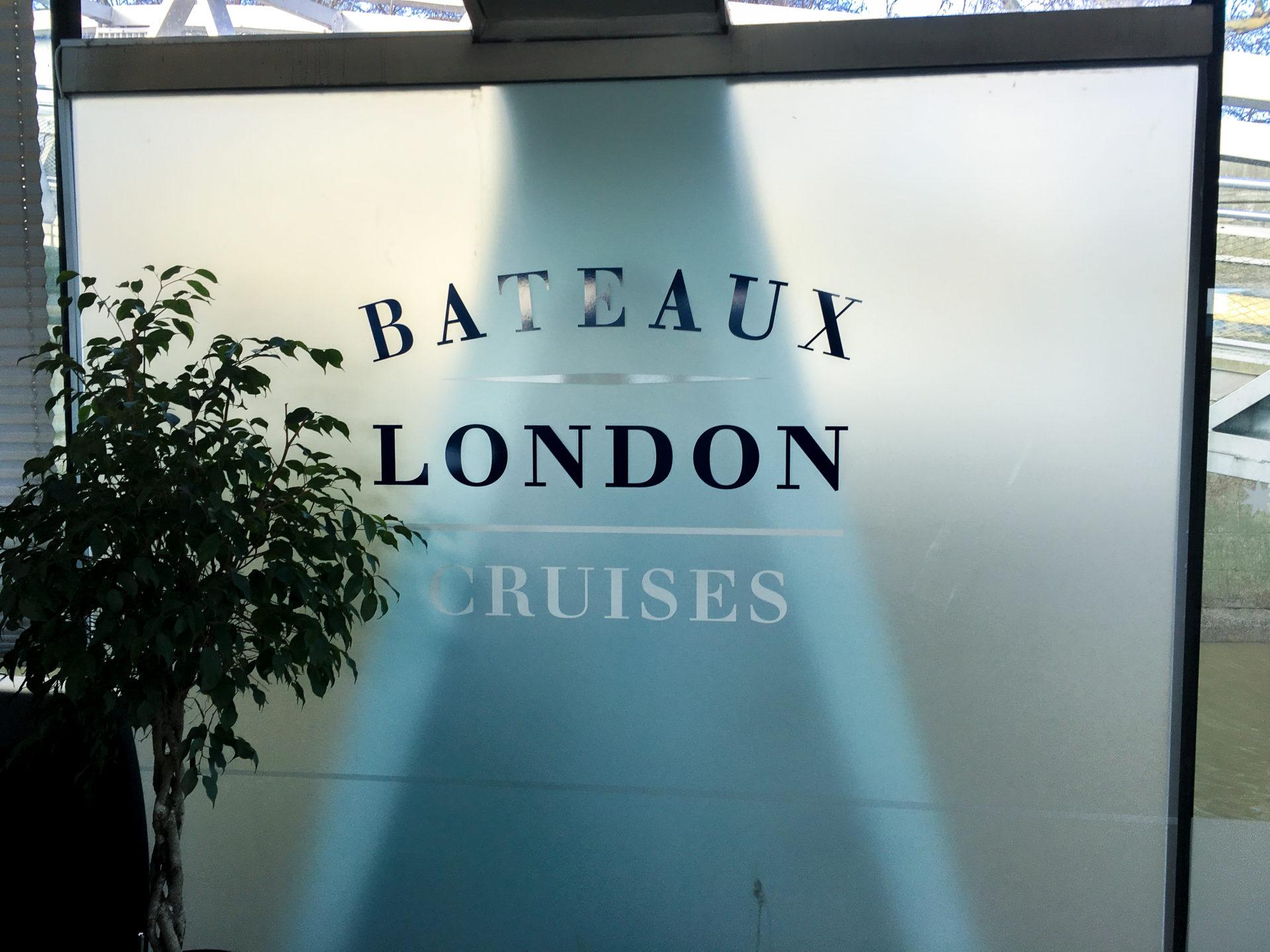 Bateaux London Cruises at Embankment Pier