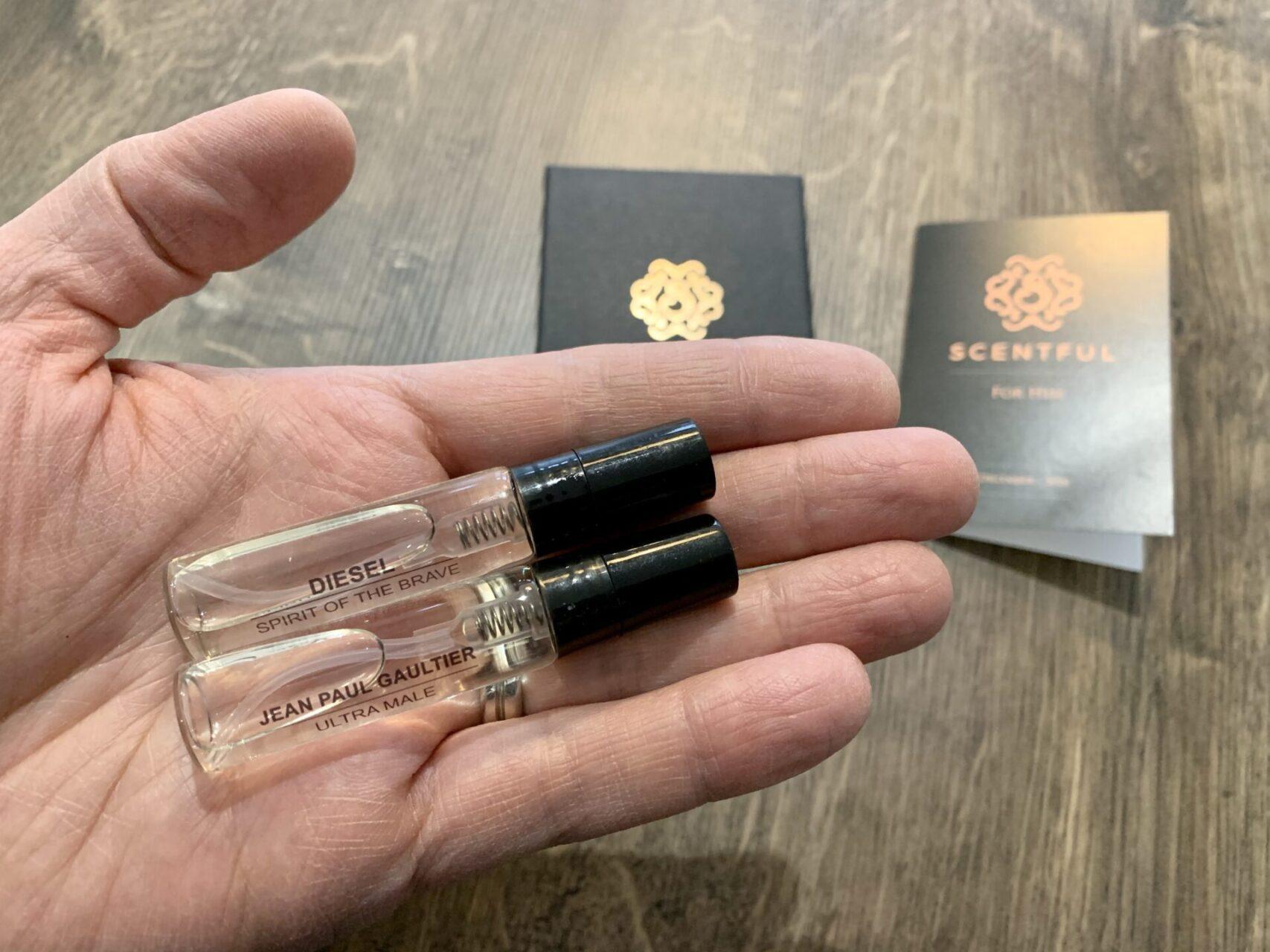 Scentful 2x aftershave sprays
