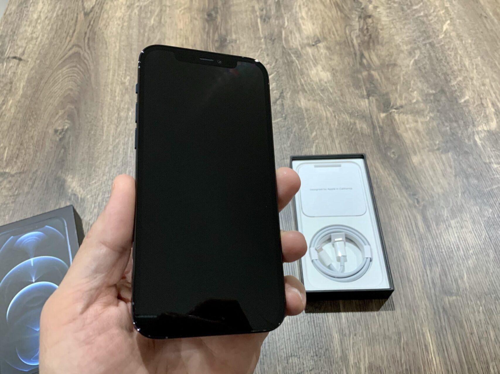 iPhone 12 Pro screen