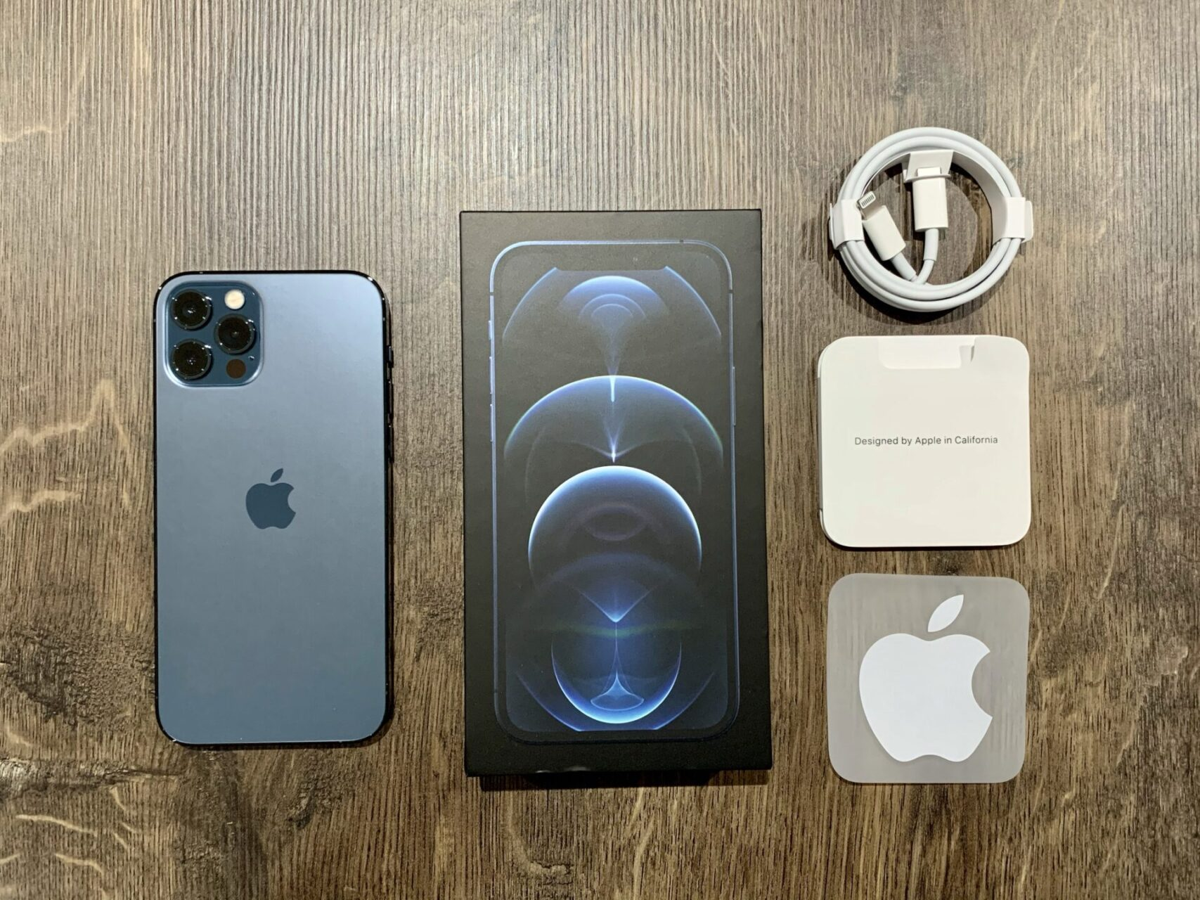 iPhone 12 Pro box contents